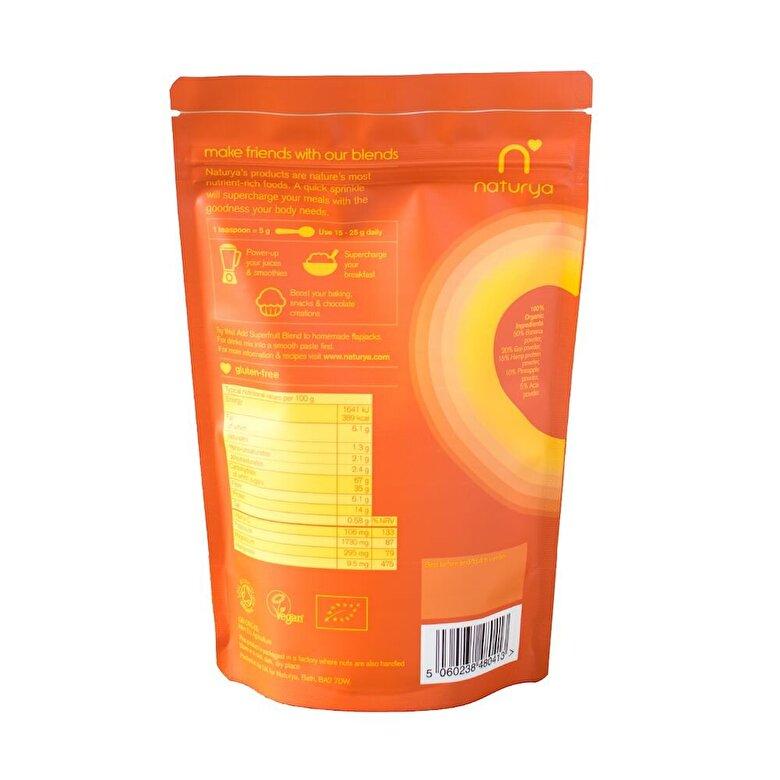 Naturya - Combinatia de fructe organice - 100 g - Incolor