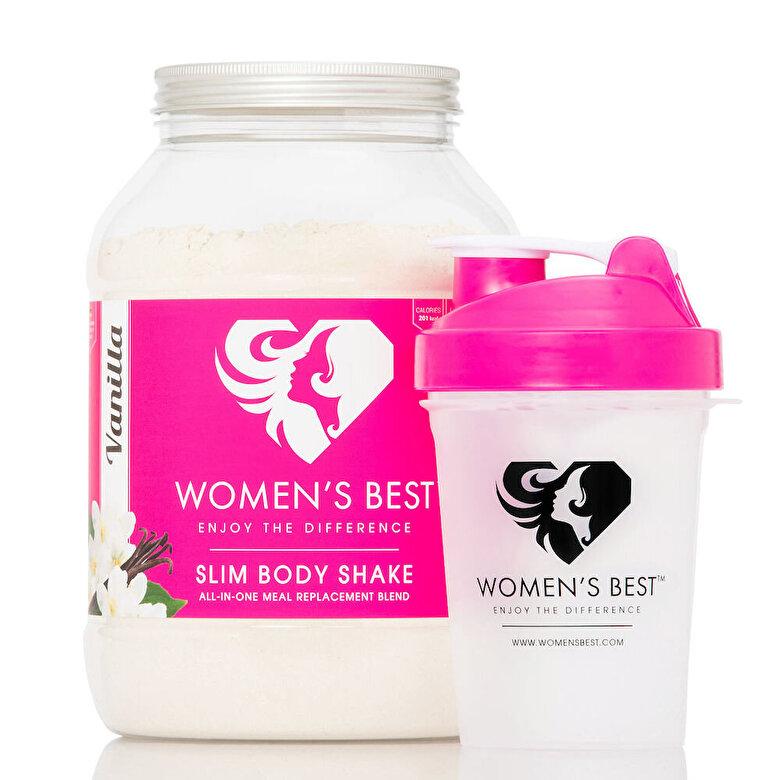 Women's best - Slim Body Shake - Vanilie - 1200 g - Incolor