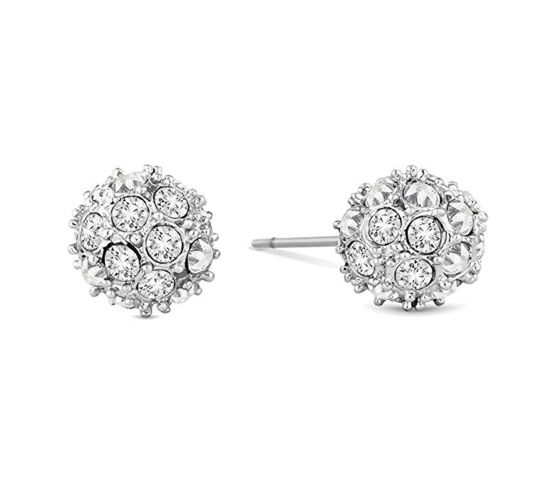 Diamond Style - Cercei Diamond Style CRYSTALBALLSTUD - Argintiu