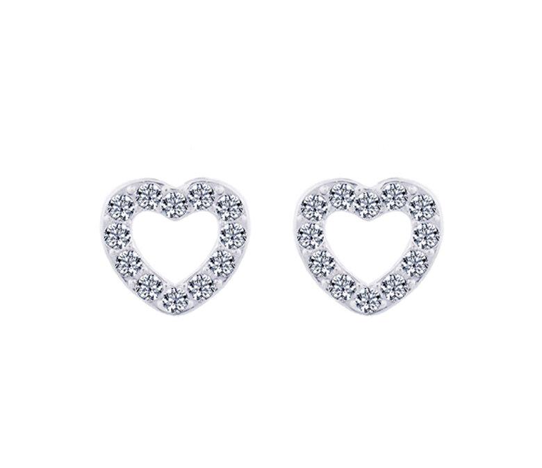 Diamond Style - Cercei Diamond Style PAVEHEASTUD - Argintiu