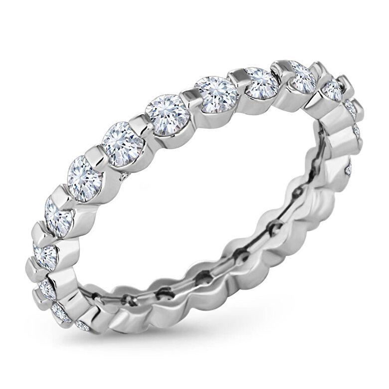 Diamond Style - Inel Diamond Style ETERNALRING - Argintiu