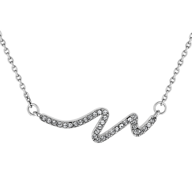 Diamond Style - Colier cu pandantiv Diamond Style WAVEPEN - Argintiu