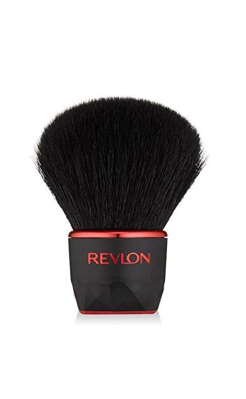 Revlon - Pensula de machiaj Kabuki, pentru pudra bronzanta - Incolor