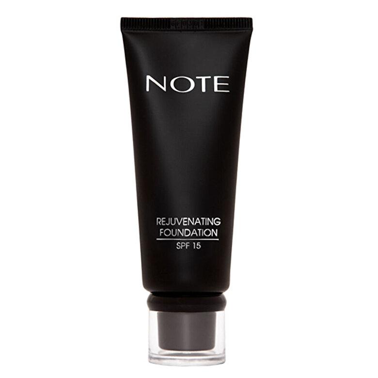 NOTE Cosmetics - Fond de ten Rejuvenating cu SPF15, nr. 08, 35 ml - Incolor