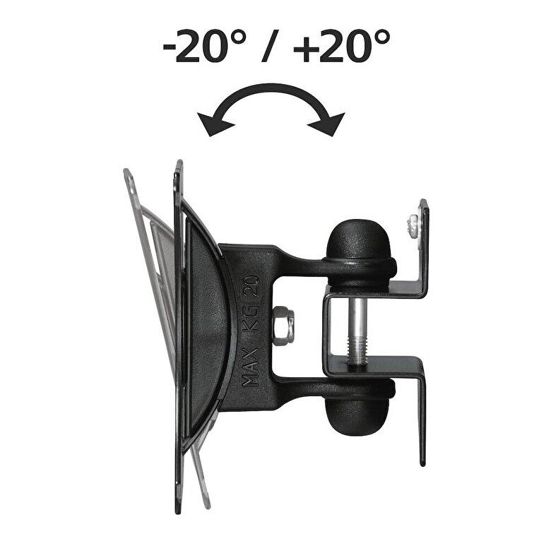 Hama - Suport perete LCD Easy1 Hama, 12007, 81 cm, negru - Negru