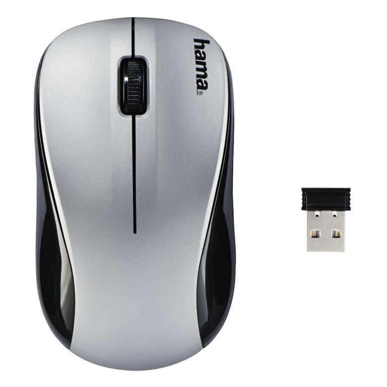 Hama - Mouse wireless Hama, 134940, 1200/1600/800 dpi, Argintiu - Argintiu