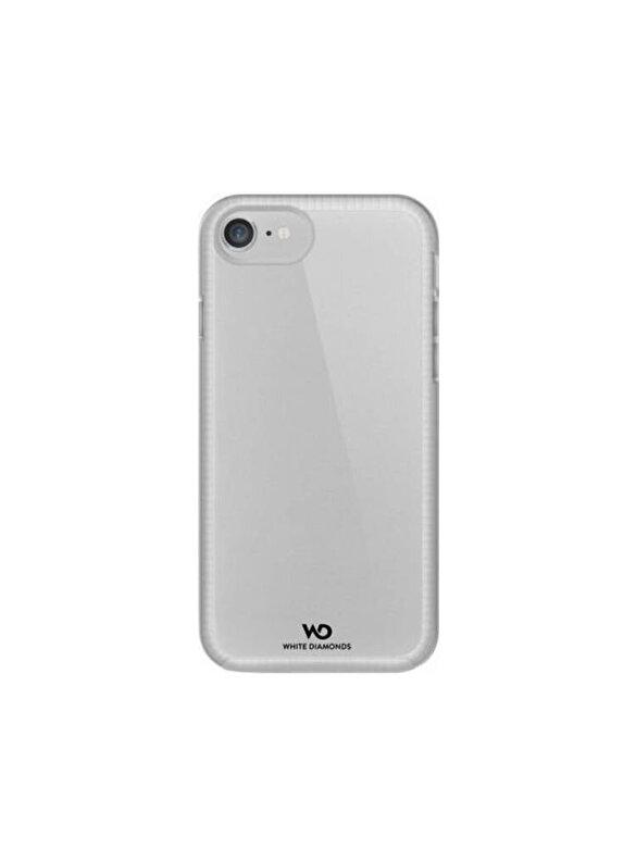 Hama - Husa de protectie Essential White Diamonds, pentru iPhone 7, transparent - Gri