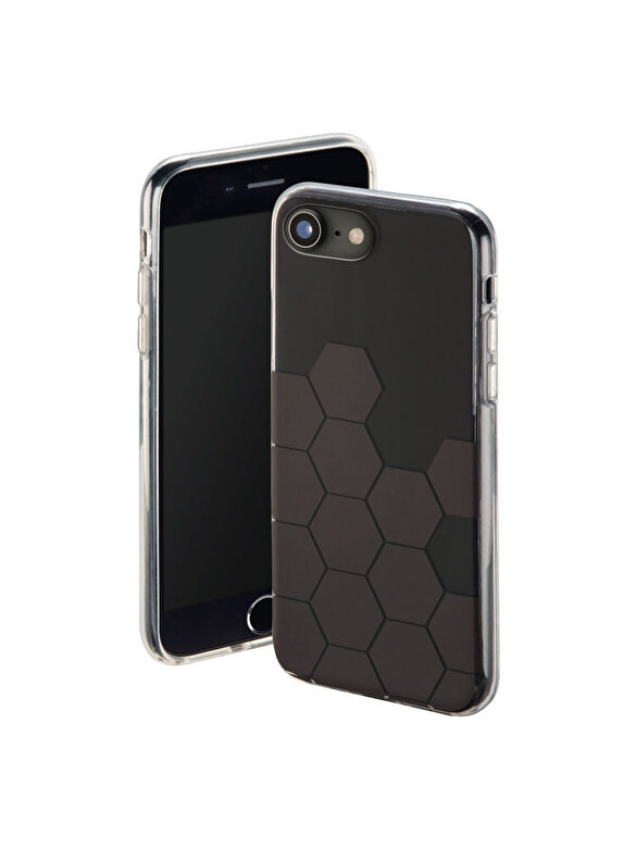 Hama - Carcasa Hexagon Hama, pentru iPhone 6/6s/7/8, negru - Negru