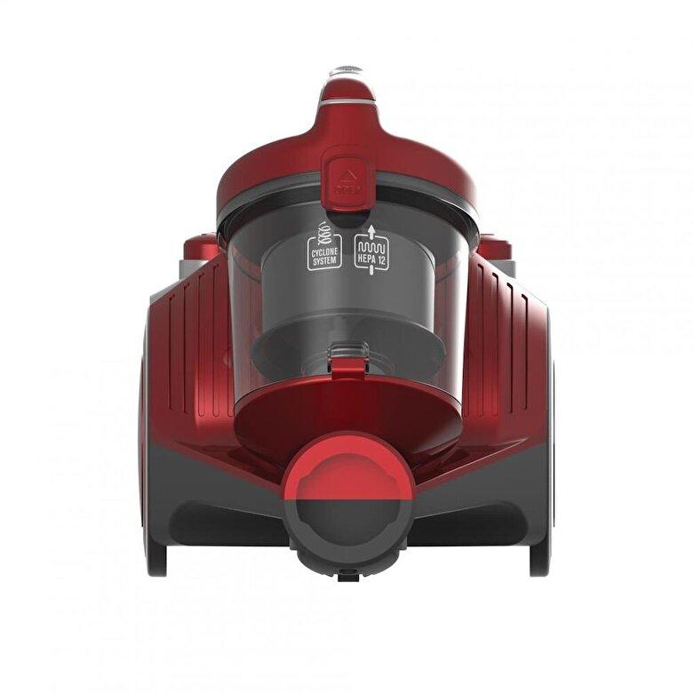 Heinner - Aspirator fara sac Heinner, HVC-MC700RD, putere de absortie 140W - Incolor
