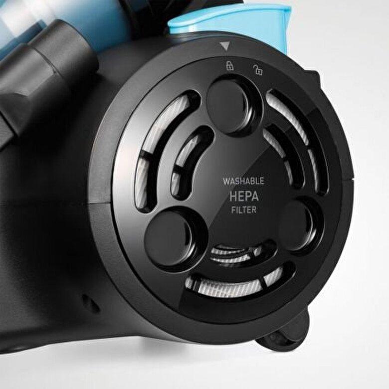 Beko - Aspirator fara sac Beko, BKS1360C, aspirare uscata, putere de absorbtie, 190W - Negru