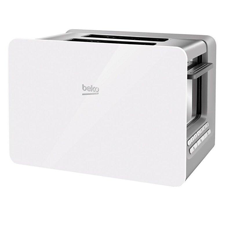 Beko - Prajitor de paine Beko, TAM6202W, 870W - Alb