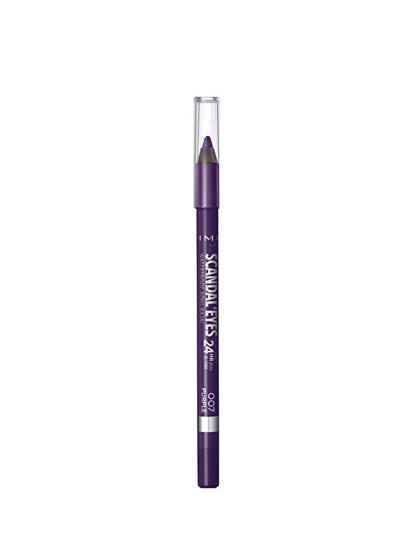 Rimmel - Creion de Ochi Scandal'Eyes Waterproof Kohl Kajal Rimmel London, 007 Purple, 007 Purple, 12 g - Incolor