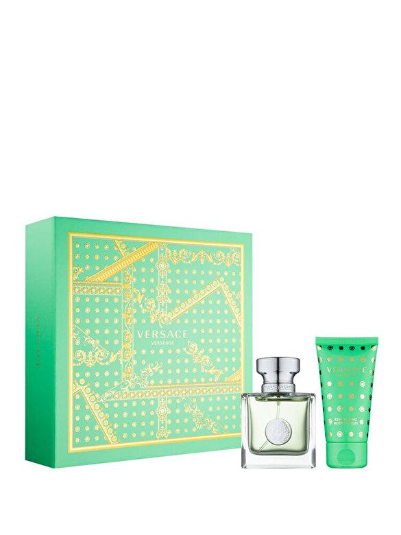 Versace - Set cadou Versense (Apa de toaleta 30ml + Lotiune de corp 50ml), Pentru Femei - Incolor