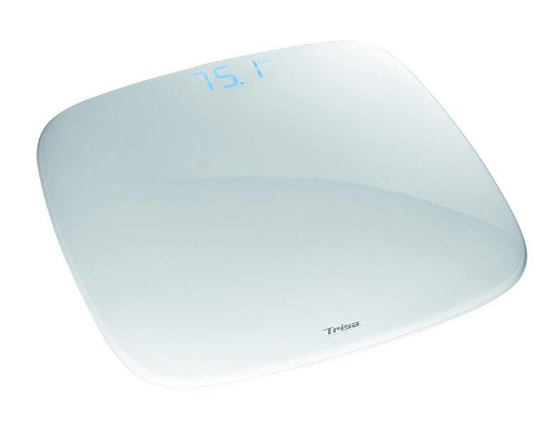 Trisa - Cantar corporal Trisa iScale 1860.70 Alb, 150kg, display LCD - Alb