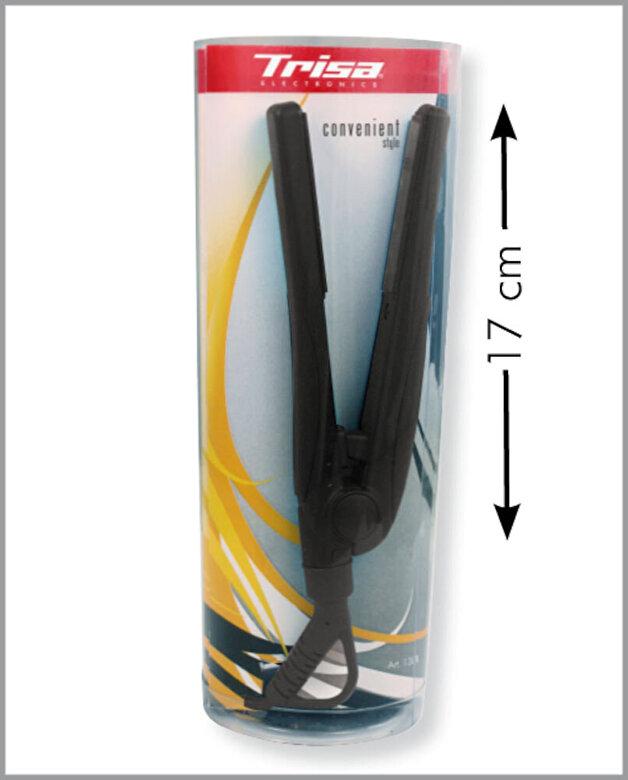 Trisa - Placa de par Trisa Conveninet Style Black 1304.42, Putere 18 W, 200 grade, Husa inclusa - Albastru