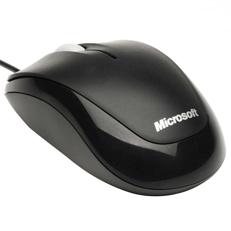 Microsoft - Mouse Microsoft compact optic, 4HH-00002, Negru - Negru