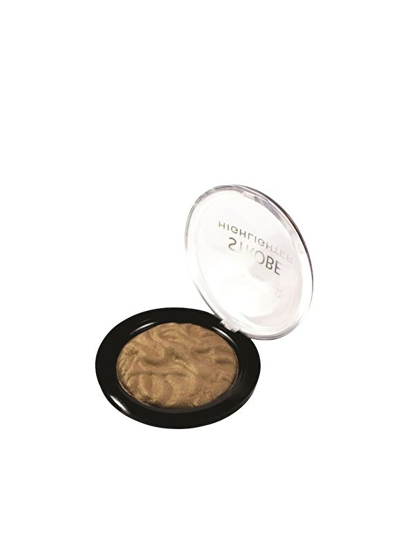 Makeup Revolution London - Pudra iluminatoare Strobe, Gold, 25 g - Incolor