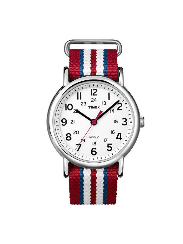 Timex - Ceas Timex Weekender T2N746 - Rosu zmeuriu