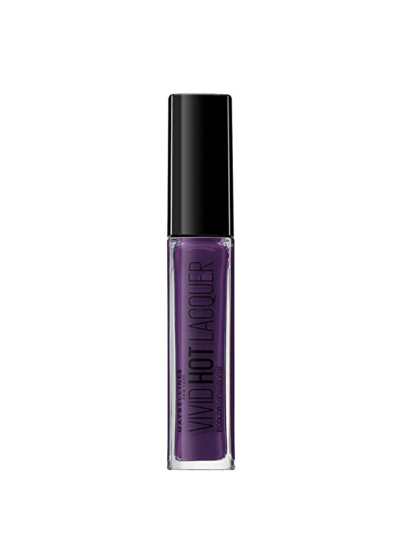 Maybelline NY - Ruj lichid Maybelline New York Color Sensational Vivid Hot Lacquer 78 Royal, 7.7 ml - Incolor
