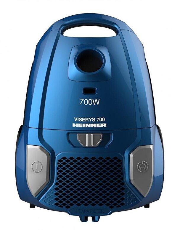 Heinner - Aspirator cu sac Heinner HVC-MBL1400-V2, putere: 700W, albastru - Albastru