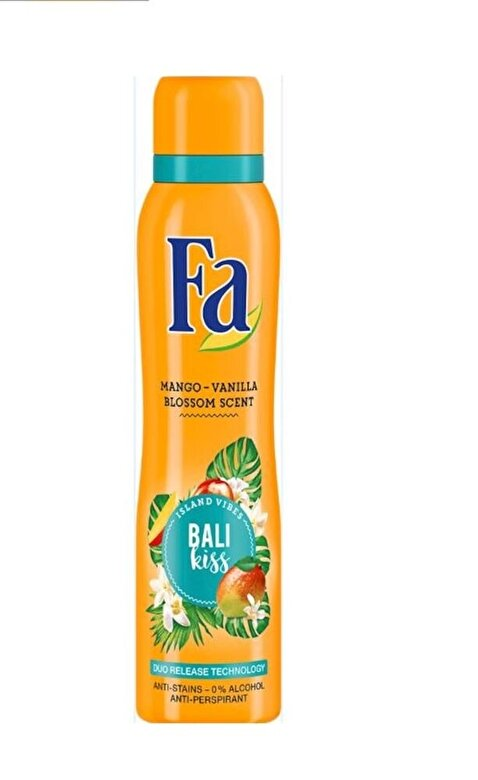 Fa - Deodorant Island Vibes Bali, 150 ml - Incolor