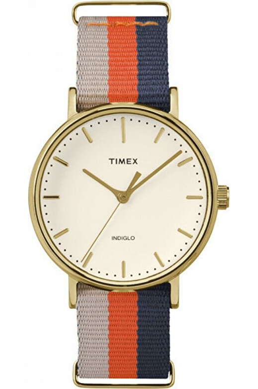 Timex - Ceas Timex Weekender TW2P91600 - Bleumarin-portocaliu-bej