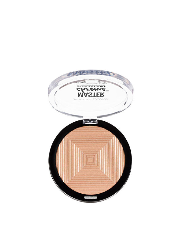 Maybelline NY - Iluminator cu reflexii metalice Maybelline New York Master Chrome 100 Molten Gold, 9 g - Incolor