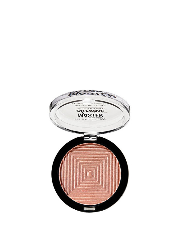 Maybelline NY - Iluminator cu reflexii metalice Maybelline New York Master Chrome 050 Molten Rose Gold, 9 g - Incolor