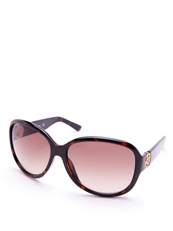 Guess - Ochelari de soare Guess GU7406 52F - Maro inchis