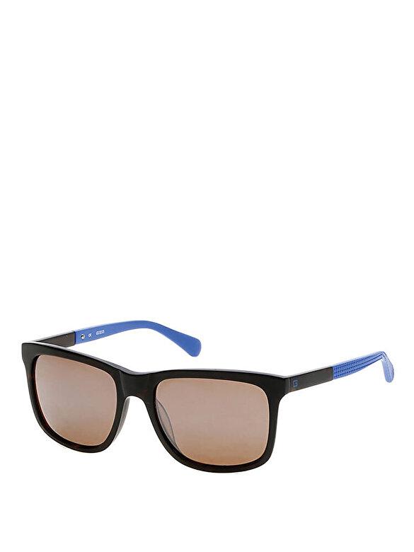 Guess - Ochelari de soare Guess GU6861 52H - Albastru-negru