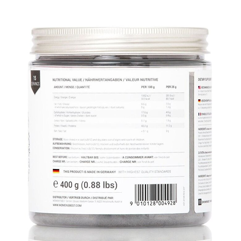 Women's best - Black Superfood Smoothie 400 g - Incolor