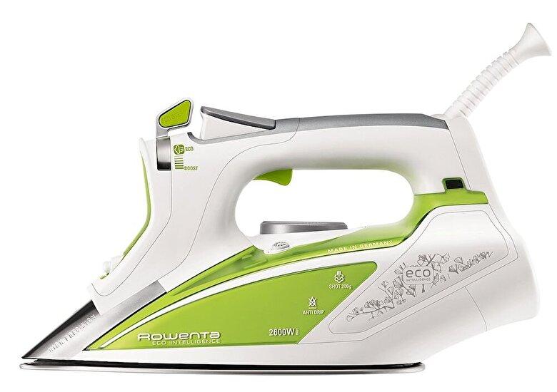 Rowenta - Fier de calcat Rowenta Ecosteam DW9210D1, 2600W, 0.35L, jet de abur 200g/min, 45g/min, verde - Verde