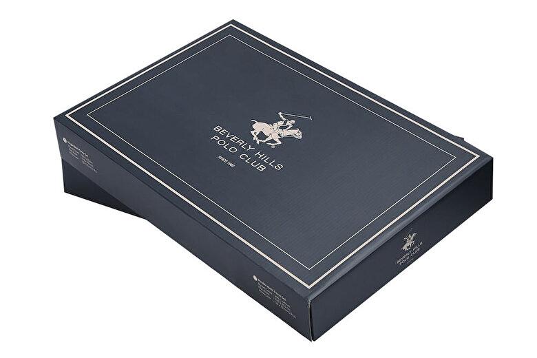 Beverly Hills Polo Club - Set lenjerie de pat single, din bumbac ranforce Beverly Hills Polo Club, 176BHP2108, bumbac ranforsat, 160 x 240 cm - Bej