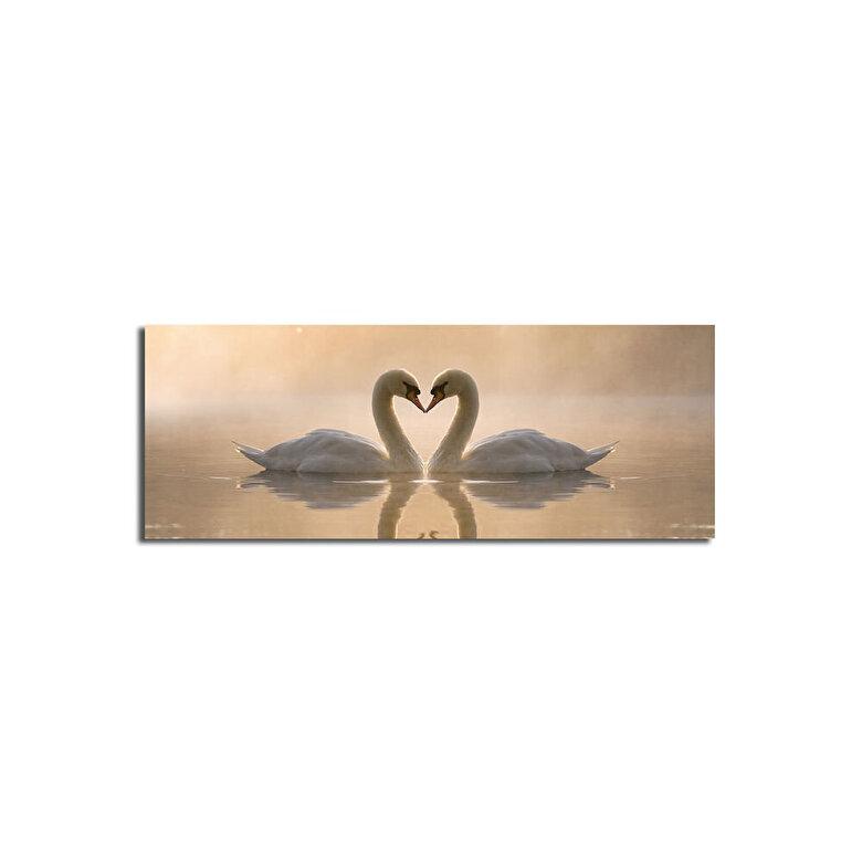 Horizon - Tablou decorativ pe panza Horizon, 237HRZ1254, 30 x 90 cm, panza - Multicolor