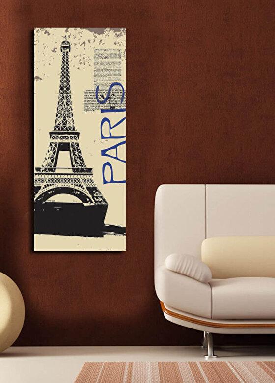Horizon - Tablou decorativ pe panza Horizon, 237HRZ1201, 30 x 70 cm, panza - Multicolor