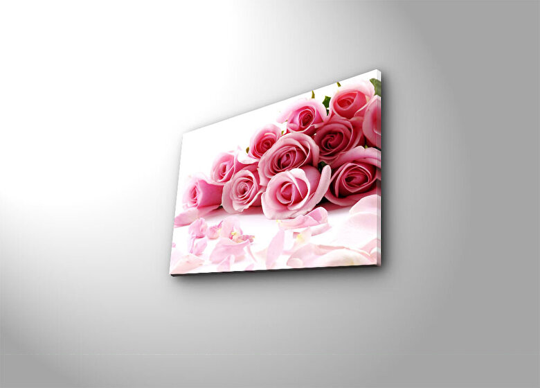 Horizon - Tablou decorativ pe panza Horizon, 237HRZ3228, 28 x 38 cm, panza - Multicolor