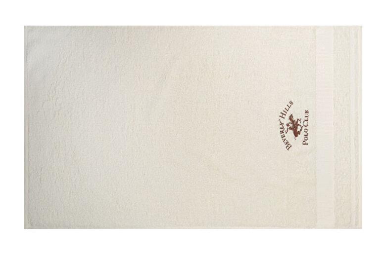Beverly Hills - Set doua prosoape de baie, Beverly Hills Polo Club, bumbac, 40 x 60 cm, 50 x 100 cm, 355BHP1325 - Crem