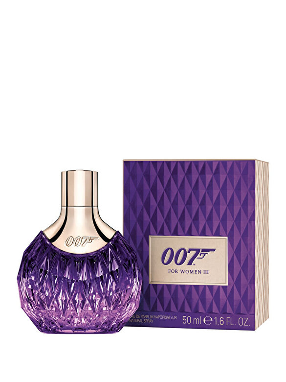 James Bond - Apa de parfum James Bond 007 III, 50 ml, Pentru Femei - Incolor