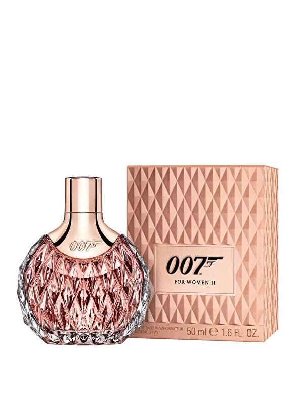 James Bond - Apa de parfum James Bond 007 II, 50 ml, Pentru Femei - Incolor