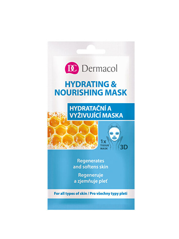 Dermacol - Masca pentru hidratarea tenului Tissue Hydrating, 15 ml - Incolor
