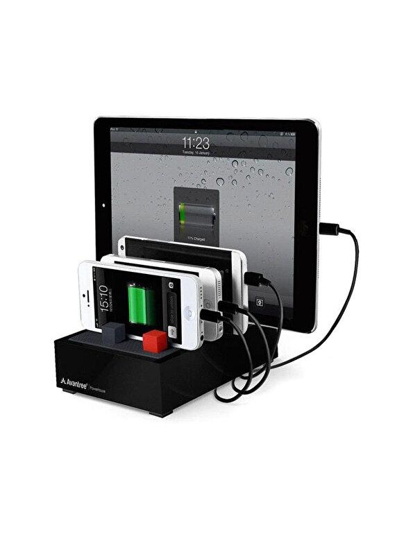 Avantree - Statie de incarcare Avantree Powerhouse, CGPS-TR618-B-EU, pentru mai multe dispozitive, 4 Port 22.5W 4.5A, negru - Negru