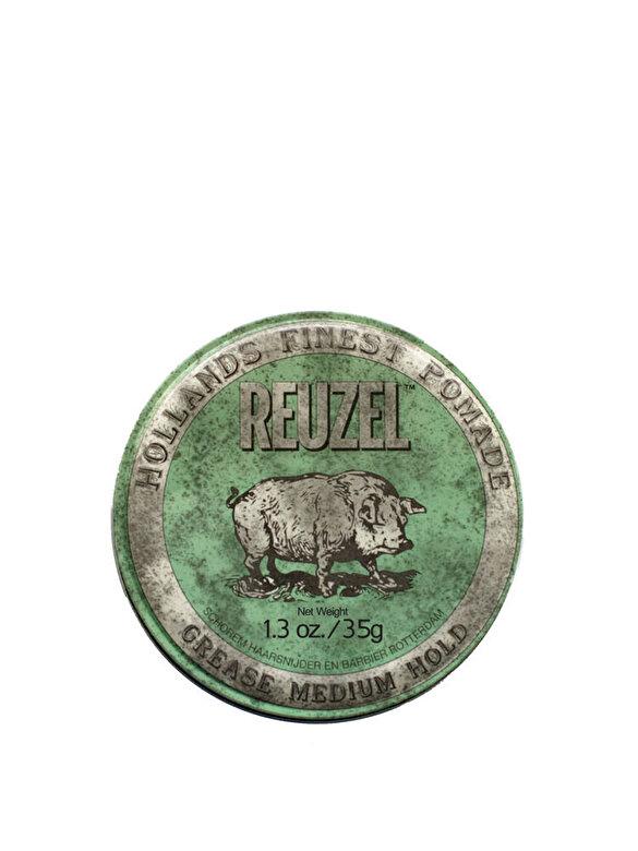 Reuzel - Pomada cu fixare medie Green, 35 g, Reuzel, 35 ml - Incolor
