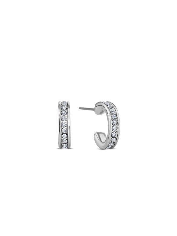 Diamond Style - Cercei Diamond Style DOMINOEARR - Argintiu
