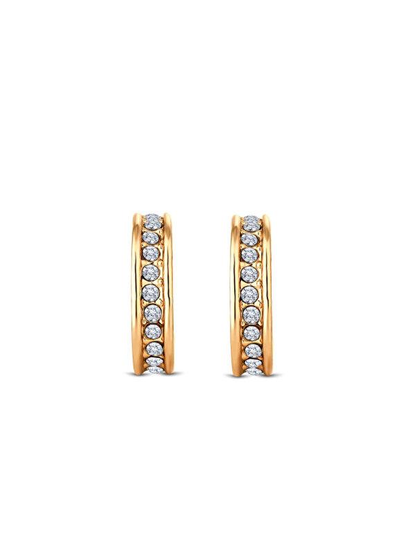 Diamond Style - Cercei Diamond Style DOMINOEARRGOLD - Auriu