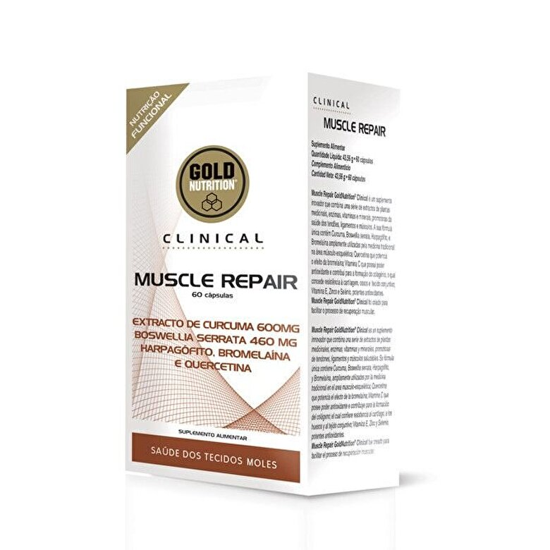 GoldNutrition - Vitamine si Minerale, GoldNutrition, CLINICAL Muscle Repair, 60 cps - Incolor