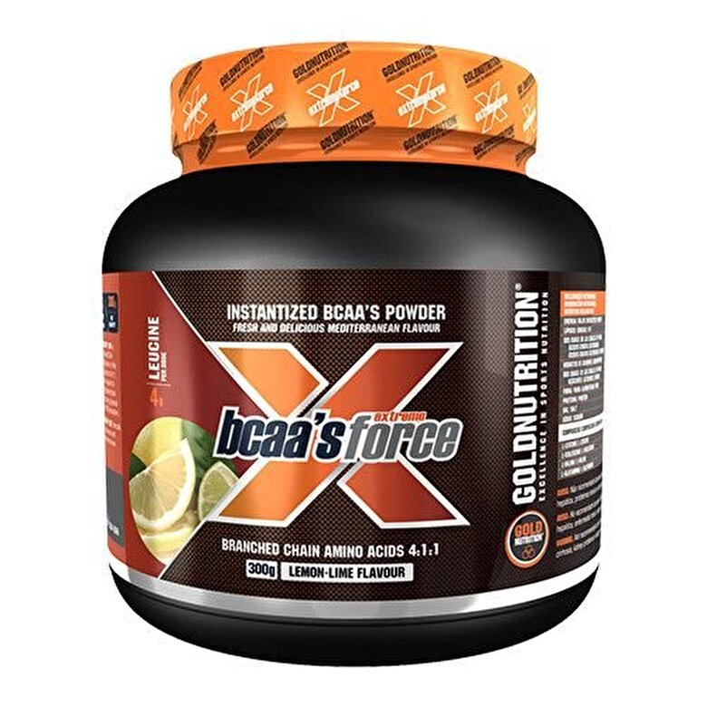 GoldNutrition - Aminoacizi, GoldNutrition, EXTREME FORCE BCAA'S FORCE, 300 G - Incolor