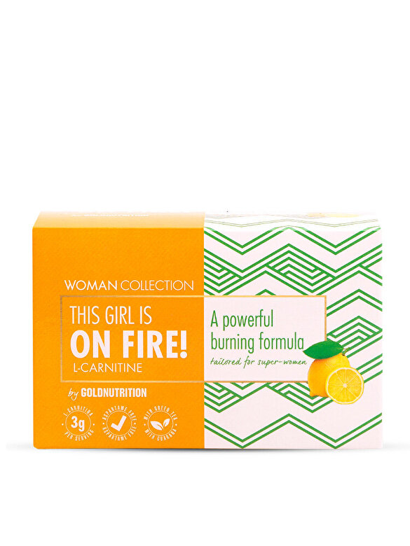 GoldNutrition - Woman Collection On Fire - L-carnitina Lamaie 15 doze - Incolor