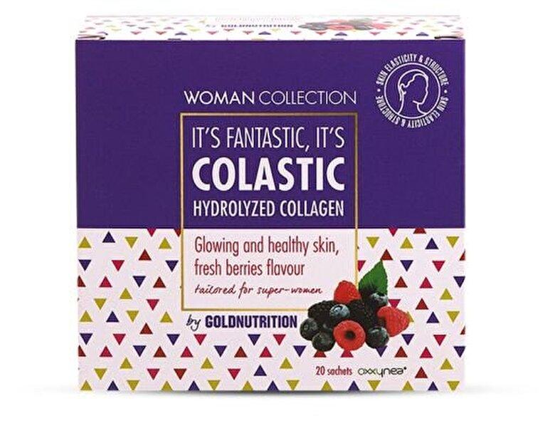 GoldNutrition - Woman Collection Colastic - Colagen hidrolizat Fructe de padure 20 doze - Incolor