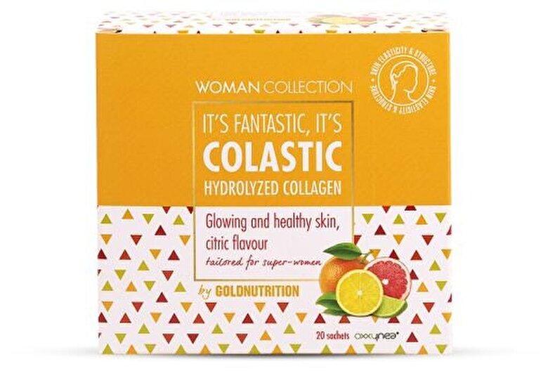GoldNutrition - Woman Collection Colastic - Colagen hidrolizat Citrice 20 doze - Incolor