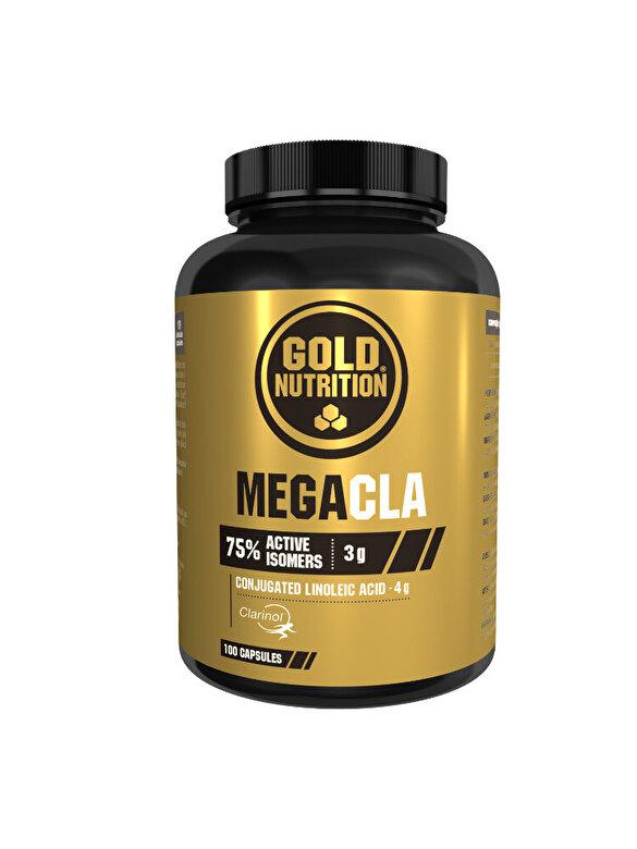 GoldNutrition - Supliment pentru slabire, GoldNutrition, MEGACLA 1000  MG, 100 CPS - Incolor